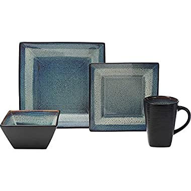 Oneida Adriatic 32-piece Service for 8, Stoneware Dinnerware Set