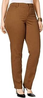 Plus Size Tummy-Control Slim-Leg Jeans