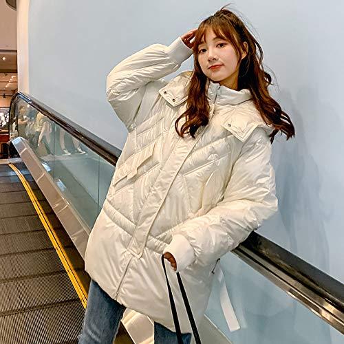 WFSDKN dames Parka 2019 winterdonsjack van katoen met capuchon dames warme jas met modieuze en hoogwaardige mantel