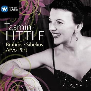 Tasmin Little: Brahms, Sibelius & Part