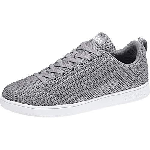 adidas Vs Advantage Clean, Zapatillas de Tenis Hombre, Gris (Gretwo/Gretwo/Ftwwht Gretwo/Gretwo/Ftwwht), 49 1/3 EU
