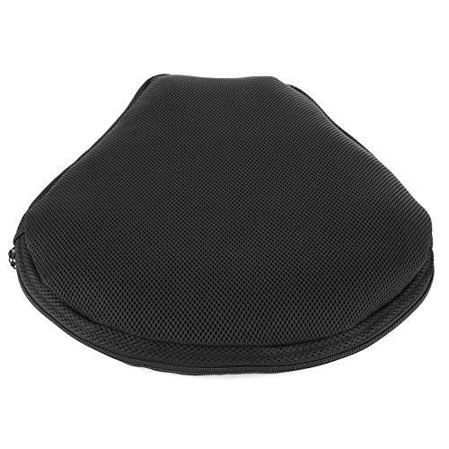 Bediffer Cojín inflable del asiento del asiento de la comodidad del asiento del cojín antideslizante para la bici de calle para el coche