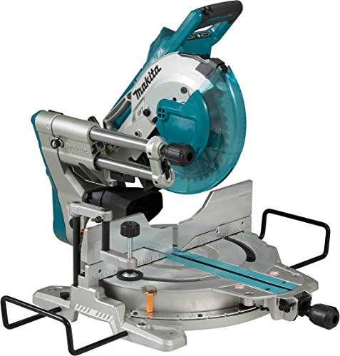 Makita DLS110Z (36V) Twin 18V Li-Ion LXT Brushless 260mm Slide Compound Mitre Saw - Batteries and Charger Not Included
