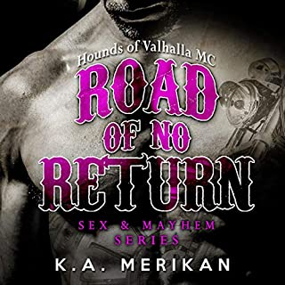 Road of No Return audiobook cover art