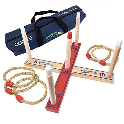 Garden Games 503 - Gioco Quoits / Ring Toss / Hoopla in Una Borsa da Trasporto