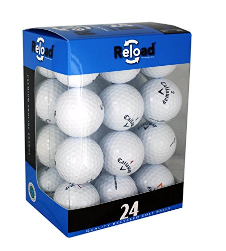Reload Recycled Golf Balls (24-Pack) of Callaway Golf Balls, One Size