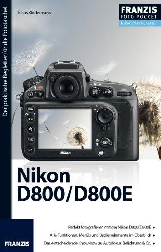 Foto Pocket Nikon D800/D800E (German Edition)