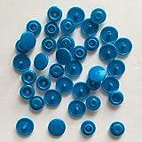 20/50/100/150 set T5 12mm Plastic Snaps Button Sujetadores Hebilla Snap Button Resina Prendas de vestir Accesorios para ropa de bebé (en bolsa) -hu lan, 50set