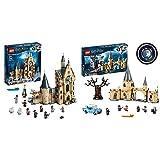 LEGO Harry Potter - Torre del Reloj de Hogwarts, Set de Construcción + Harry Potter - Sauce Boxeador de Hogwarts