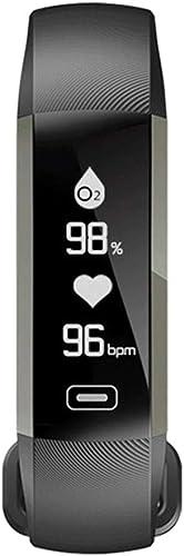Bracelet de Fitness Intelligent KLPI - Moniteur de fréquence Cardiaque - Moniteur de Sommeil