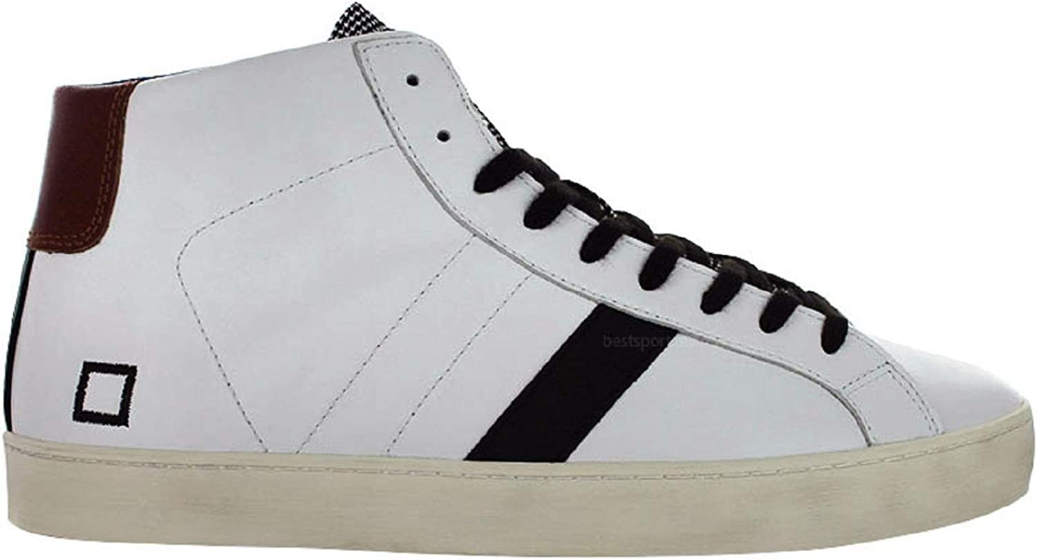 D.a.t.e. Herren Sneakers in der Weisser Farbe 2018 Kolektion - - - Hill HIGH Pop White-PDP M291-HH-PO-WP B07GL29SXG  c1f521