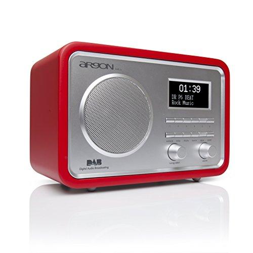 Argon DAB+UKW Radio DAB2+ V6 rot/Weiss
