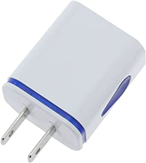 FunDiscount 2.1Amp QC 3.0 3-Port Quick Charger Plug Cube Block Portable Travel Power Adapter Replacement Compatible for iPhone11 Pro Max//XS//XR//8//7 Plus Android Light Blue USB Wall Charger