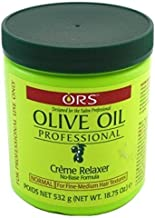 Ors Olive Oil Creme Relaxer Normal 18.75oz Jar (3 Pack)