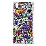 IJIA Funda para Sony Xperia L1 Noctilucent Personajes de Dibujos Animados TPU Silicona Suave Cover Tapa Caso Parachoques Carcasa Cubierta Soft Shell Case para Sony Xperia L1 (5.5')