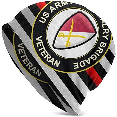 Peeeenny Beeen Logotipo de la 6ta Brigada de Caballería Gorra de cráneo/Forro de Casco/Gorro de Running: máxima retención térmica y Rendimiento de absorción de Humedad