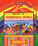 "book cover: ""What a Wonderful World"""