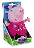 Jemini 023344 - Peppa Pig, Peluche musicale e luminoso, +/- 25 cm