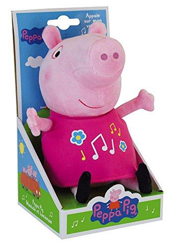 Jemini 023344 Peppa Pig - Peluche Musical y Luminoso (+/- 25 cm)
