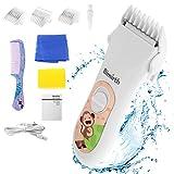 Tondeuse à cheveux électrique Bimirth - Pour bébé - Silencieuse - Sans fil - Câble USB - Rechargeable - Avec lame en...