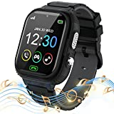 Kids Smart Watch for Boys Girls - Touch Screen Smartwatch with Phone Call SOS Music Player Alarm Camera Games for Christmas Birthday