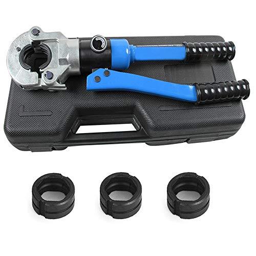 Alicates de engaste hidráulico herramienta de engaste de racores, tubo compuesto prensado, pinzas para tubo PEX