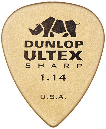 Dunlop 433P1.14 Ultex Sharp, 1.14mm, 6/Player's Pack