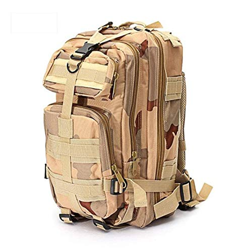 Outdoor Tactical Military Backpack 1000D Nylon 30L Waterproof Sports Camping Hiking Hunting Bags khaki 30-40L