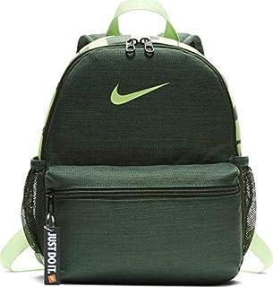 Nike Unisex-Child Backpack, Fir/Lime - NKBA5559