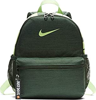 Nike Unisex-Child Backpack, Fir/Lime - NKBA5559