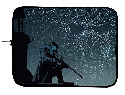 Punisher Superhero Laptop Notebook Tablet Case Sleeve Bag 13 13.3' Mac Book Pro/Mac Book Air Surface Pro Laptop/Tablet Water Repellent Neoprene Cushioned Case X Men