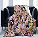 Peter E Nash Belle Delphine Blanket Flannel Throw Blanket Home Decoration Couch Sofa Bed Outdoor Throw Blankets 50'x40'