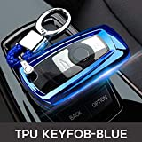 ZYTN Key FOB Cover Case Protect Skin Hood per BMW F10 F20 F30 Z4 X1 X3 X4 M1 M2 M3 E90 1 2 3 5 7 Serie Remote Full Protect,C