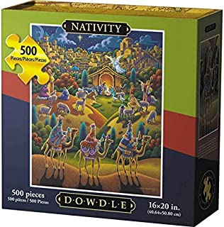 Dowdle Jigsaw Puzzle - Nativity - 500 Piece