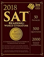 SAT Reading World Literature Practice Book 2018 (Advanced Practice)