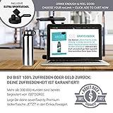 720°DGREE 950ml Edelstahl Trinkflasche (Silber) - 9