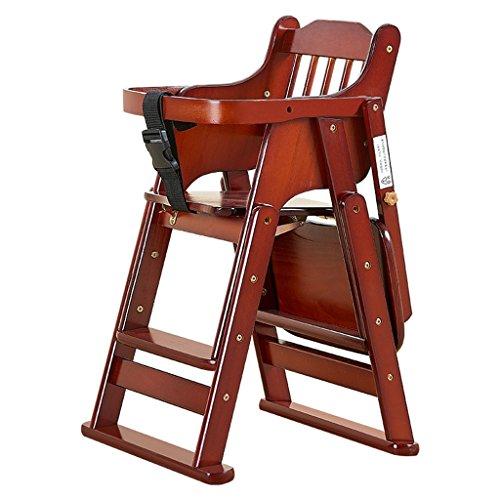 Chaises hautes Chaise pour Enfants Chaise bébé Siège bébé Chaise pour bébé Table Pliante Portable pour Enfant Tabouret pour Enfant pour bébé (Color : Cherry Color, Size : 51cm*82cm)