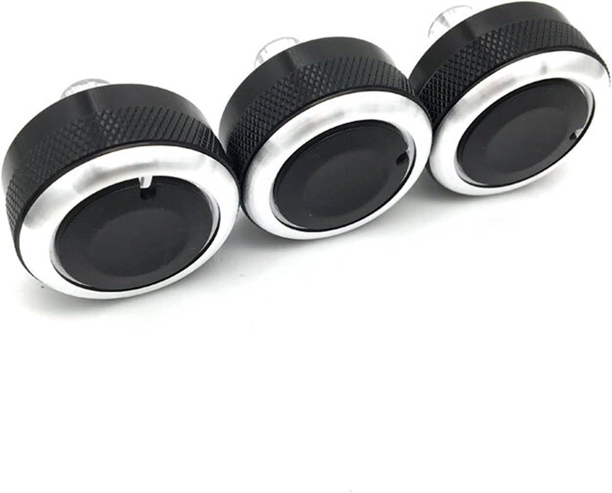 car Max 66% OFF 3pcs Set Aluminum Alloy Switch trust air knobs Conditioning