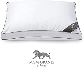 MGM Grand at Home Platinum Hotel Cotton Pillow - White Jumbo