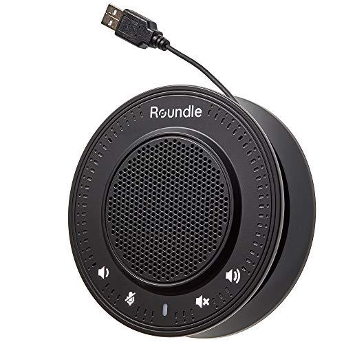 The Roundle - Altavoz de Conferencia - Conexión Sencilla Plug & Play - Compatible con Skype, Zoom, Teams, y Hangouts