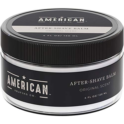 American Shaving After Shave Balm For Men (4oz) - Original Masculine Scent - 100% Natural...