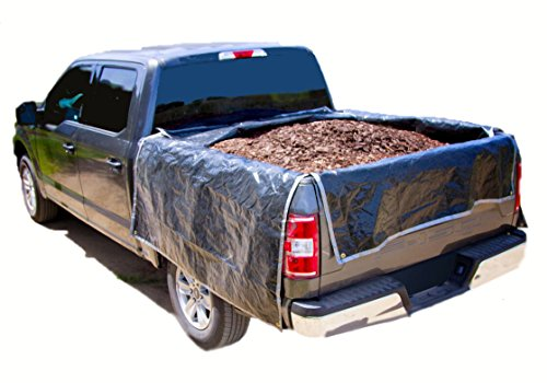 """Portable Truck Bed Liner Heavy Duty, Adjustable Truck tarp to Protect Your Full Size Truck Bed ((2) Full Size Truck - Bed Length 72"""" - 80"""" (M))"""