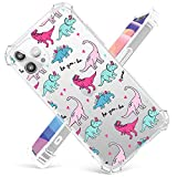 Cute Dinosaur Case Compatible with iPhone 12Pro