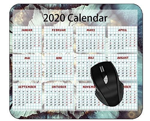 Mousepad Kalender Fractal Abstractart Kunstdruck Büro Desktops Tabelle Personalisierte Mausmatte Langlebige Tastatur Gedrucktes Mauspad Benutzerdefinierte Gummi-Mauspads 25X30Cm C