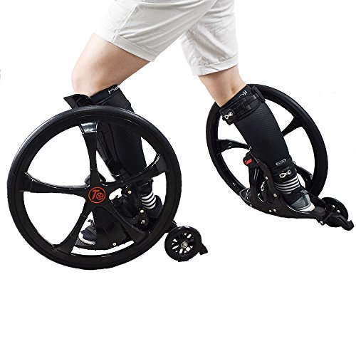 Tafeng Off-Road Roller Skate, Durable and Stable Roller Skate for Adult and Teenage. with Big Wheel Adapt Lawn Gravel Road Rugged Land Diameter 20.47in/52CM