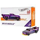 Mattel - Hot Wheels ID Vehículo de juguete, coche Solid Muscle , +8 años ( FXB35)