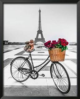 International Graphics - Affiche d'art encadrée - Assaf, Frank - ''Emotion II''- 25 x 31 cm - Couleur du cadre: Noir - Ser...