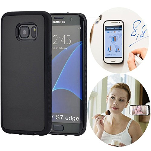 Anti Gravity Case for Galaxy Note3, MinzyCase Magical Anti gravity Nano Suction Cover Adsorbed Car Antigravity Phone Case For Samsung Galaxy Note3 (Black)