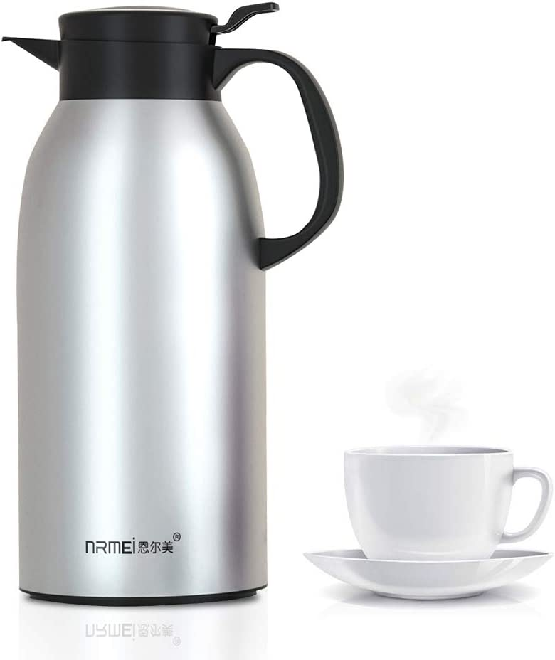 NRMEI OFFicial mail order Thermal Coffee Carafe Stainless Steel Flask Temp Insulated Ranking TOP14