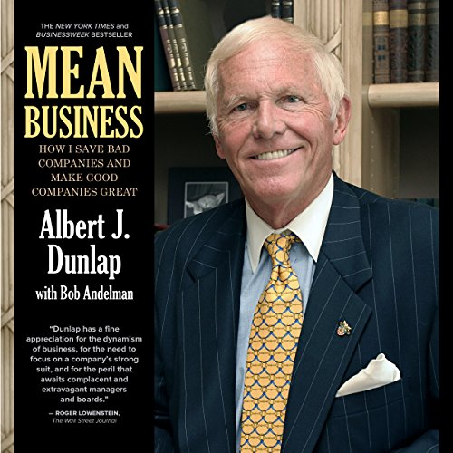Mean Business audiobook cover art